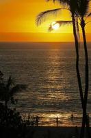 coucher de soleil silhouette
