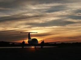 coucher de soleil brasilia photo