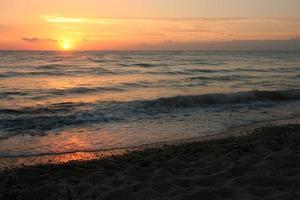 coucher / lever de soleil