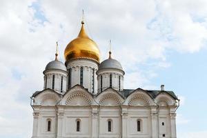 Cathédrale de l'archange à kremlin de moscou photo