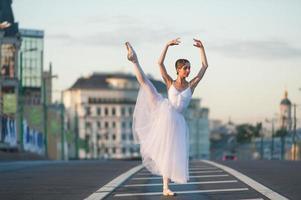 ballerine au centre de moscou photo