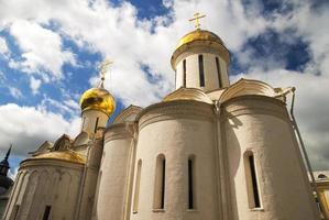 cathédrale de la trinité dans la lave trinitaire de st. sergius