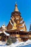 église en bois photo