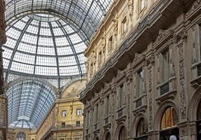 Galleria Vittorio Emanuele II, galerie marchande, Milan, Italie photo