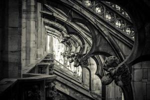 cathédrale duomo de milan - détail photo