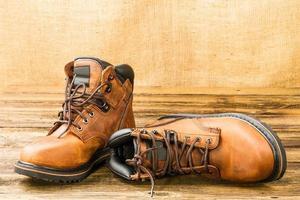 bottes pour hommes photo