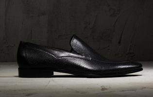 chaussure de luxe pour hommes photo