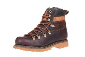 chaussures d'hiver pour hommes. isolé sur blanc photo