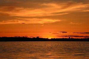 coucher de soleil de printemps-3 photo