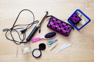 ensemble d'accessoires féminins photo