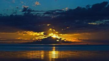 coucher de soleil de san rem photo