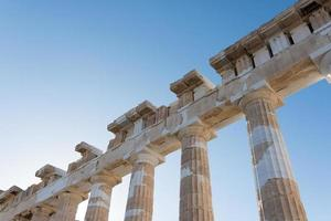Colonnes et architectures du Parthénon photo