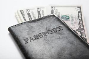 voyager à l'étranger avec de l'argent photo
