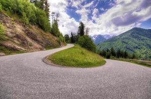 route de montagne photo