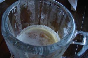 chope de bière photo
