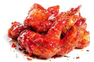 ailes de poulet à la framboise photo