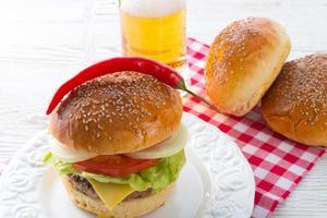 Hamburger photo