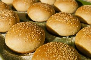 pains à hamburger photo