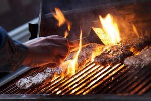 hamburgers au barbecue