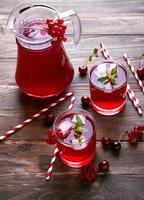 boisson froide aux baies