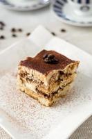 Dessert gâteau tiramisu italien