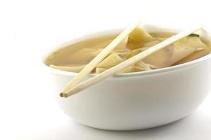 soupe wonton à emporter photo