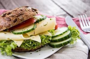 sandwich au fromage photo
