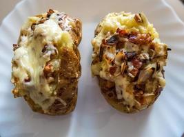 pommes de terre cuites photo