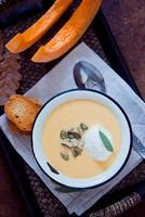 soupe à la citrouille photo
