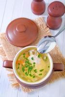 soupe au poulet photo
