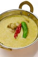 curry vert de Thailande