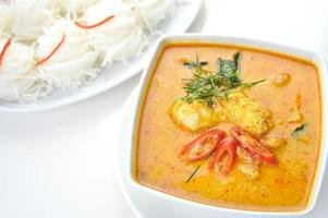 curry de chair de crabe photo