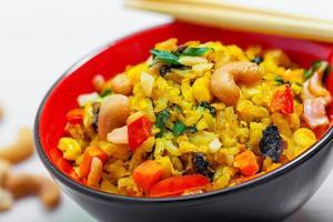 nourriture de riz photo