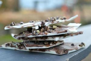 écorce de chocolat photo
