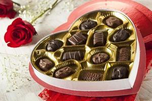 boîte de chocolats gastronomiques pour la Saint-Valentin photo