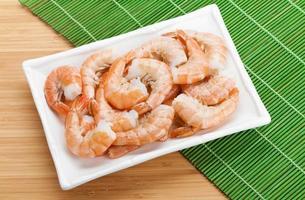 crevettes cuites photo