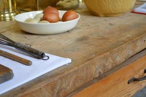 table de cuisine. photo