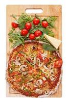 délicieuse pizza sur la table