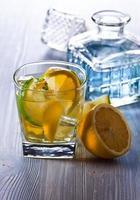 Gin avec tonic