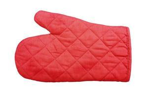 gant de protection de cuisine photo