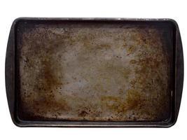 plaque de cuisson tachée