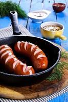 saucisse grillée