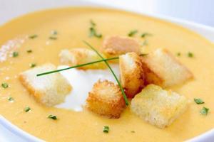 bouchent à la soupe de potiron