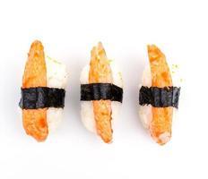 bâtonnet de crabe sushi photo