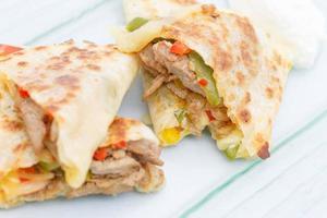 quesadilla mexicaine délicieuse cuisine internationale