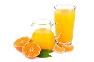jus de mandarines photo