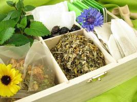 variété de thé