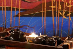 ensemble de cérémonie du thé chinois