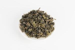 thé vert sec.