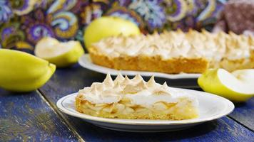 gâteau aux pommes photo